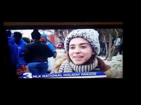 Channel 3 News Memphis MLK Parade 2018-1-15