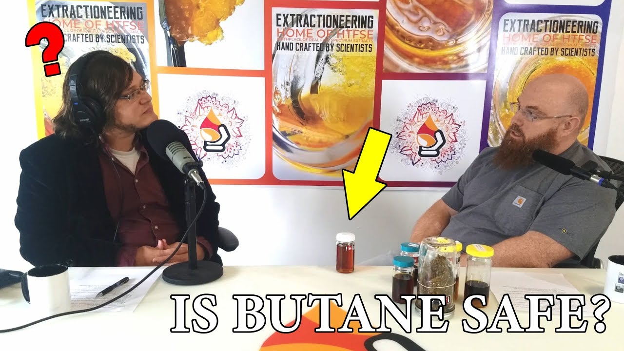 Extractioneering on the Vilification of Butane as a Solvent (Curious About Cannabis Podcast BTS)