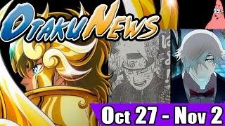 OtakuNews   Saint Seiya, Naruto, Death Billiards y mas!