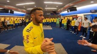 BASTIDORES da Seleção Brasileira na vitória contra os Estados Unidos