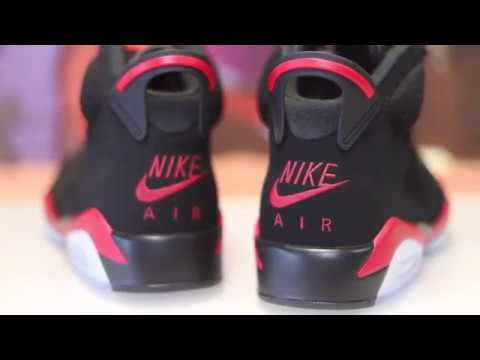 Turned these Infrared 6s into the 1999 Sample Reverse Infrareds