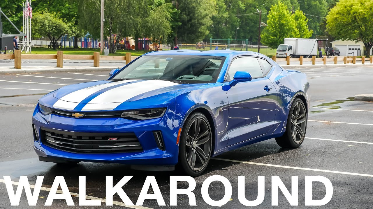 2017 chevrolet camaro rs walkaround sound 4k youtube. Black Bedroom Furniture Sets. Home Design Ideas