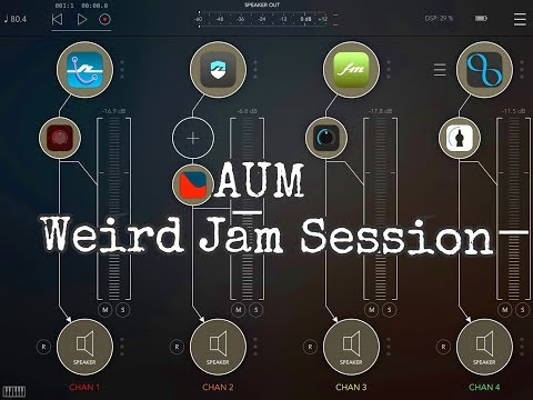 AUM Multi App Halloween Session with the iPad