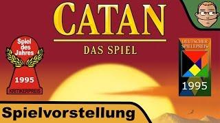 Catan - Die Siedler von Catan (Spiel des Jahres 1995) - Spielvorstellung und Regeln