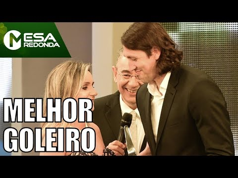 Cássio Vencedor Do Troféu Mesa Redonda (10/12/17) - Mesa Redonda