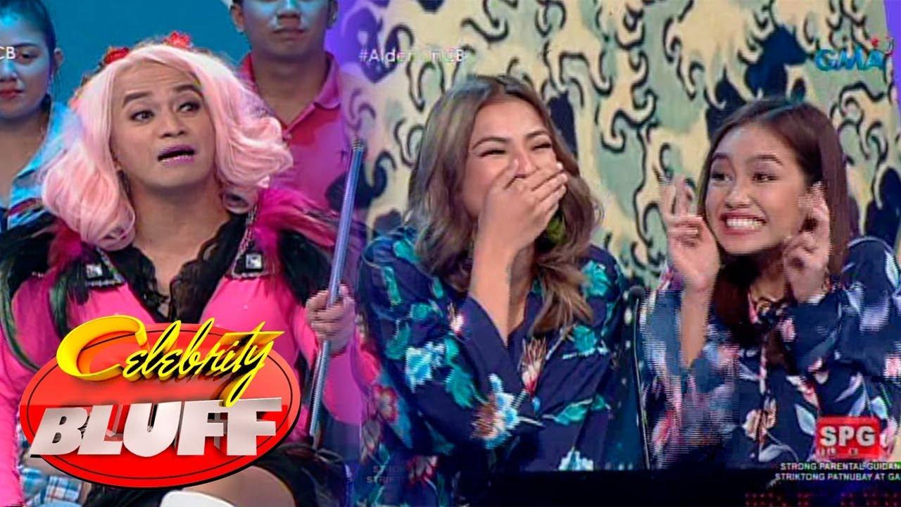 Celebrity Bluff: Boobay, tinakot si Glaiza de Castro