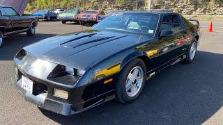 Test Drive 1992 Chevrolet Camaro Z-28 $6,950 Maple Motors #1033