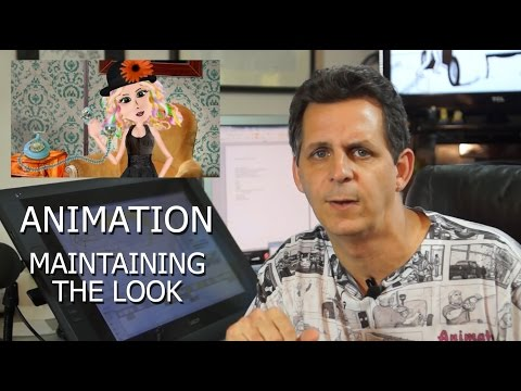Maintaining a visual look with animation director Mark Simon