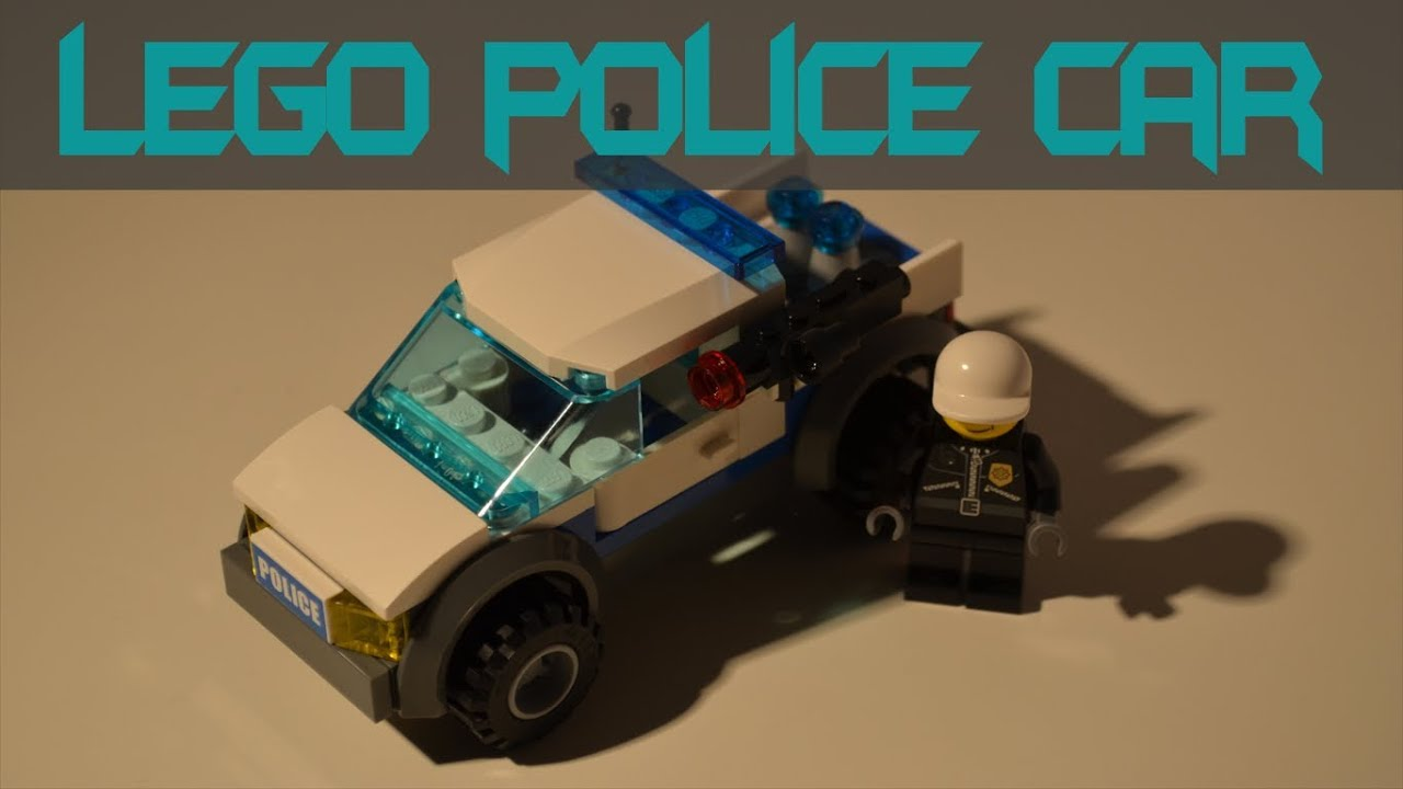 how to build a lego police car youtube. Black Bedroom Furniture Sets. Home Design Ideas