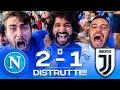 DISTRUTTI!!! NAPOLI 2-1 JUVENTUS | LIVE REACTION NAPOLETANI AL MARADONA HD