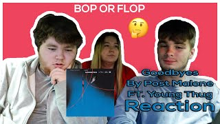 Baixar REACTING TO GOODBYES BY POST MALONE FT. YOUNG THUG