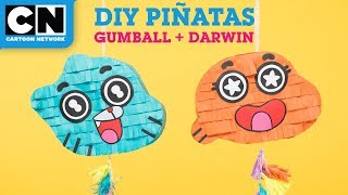 The Amazing World of Gumball | DIY Piñatas | Cartoon Network | LET'S BUILD
