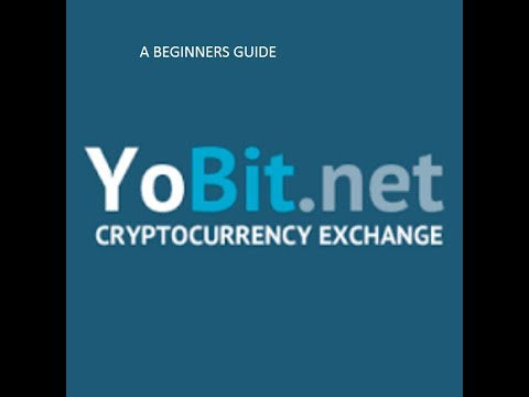 Yobit: How to buy coins off Yobit.net exchange (BEGINNERS GUIDE)