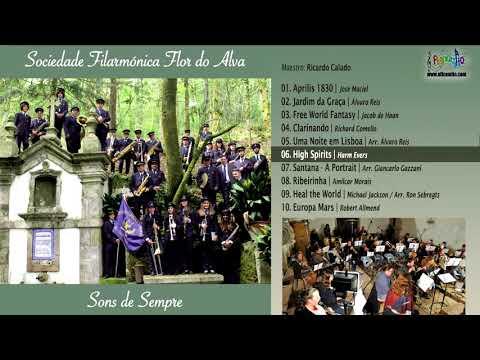 💿 2018. Sociedade Filarmónica Flor do Alva - Sons de Sempre
