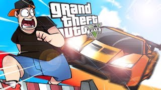 GTA V: PARKOUR VS CARRO ‹ AMENIC ›