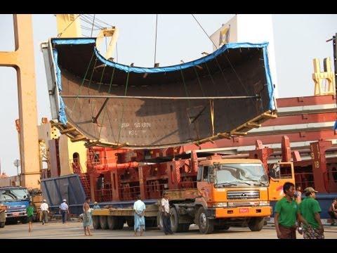 The Freight, Myanmar: Ywama Power Plant Project, Yangon, Myanmar Part1