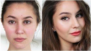 Makeup for a BLAH or Hormonal Skin Day! | Karima McKimmie