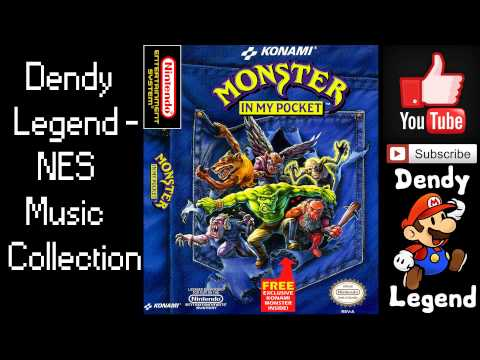 Monster in My Pocket NES Music Song Soundtrack - FULL Song [HQ] High Quality Music