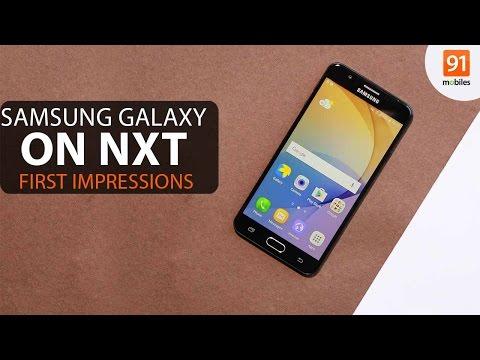 Samsung Galaxy On Nxt first impressions