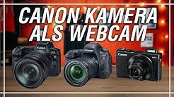 Deine Canon Kamera als Webcam einrichten kostenlos! | Milou PD Canon EOS Webcam Utility