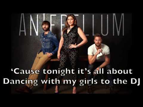 Lady Antebellum - Bartender Karaoke Cover Backing Track + Lyrics Acoustic Instrumental
