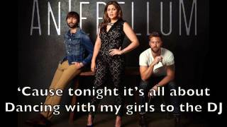 Lady Antebellum - Bartender Karaoke Cover Backing Track + Lyrics Acoustic Instrumental