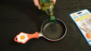 EZ Eggs Mini Non Stick Egg Frying Pan Review