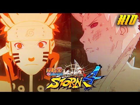 Naruto Ultimate Ninja Storm 4 Story Mode Part 10: Naruto vs. Sage Of Six Paths Obito Boss Battle!