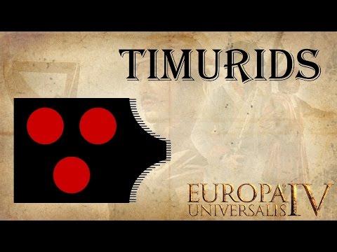 Europa Universalis 4 as Timurids 1 | Letsplay