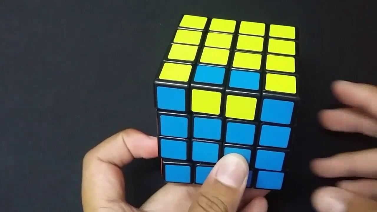 How to solve a rubik cube 4x4 edge parity