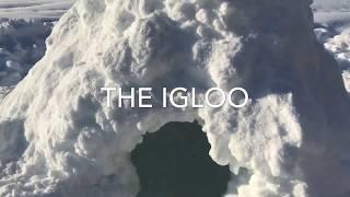 Igloo Tour/ how to build a igloo part two