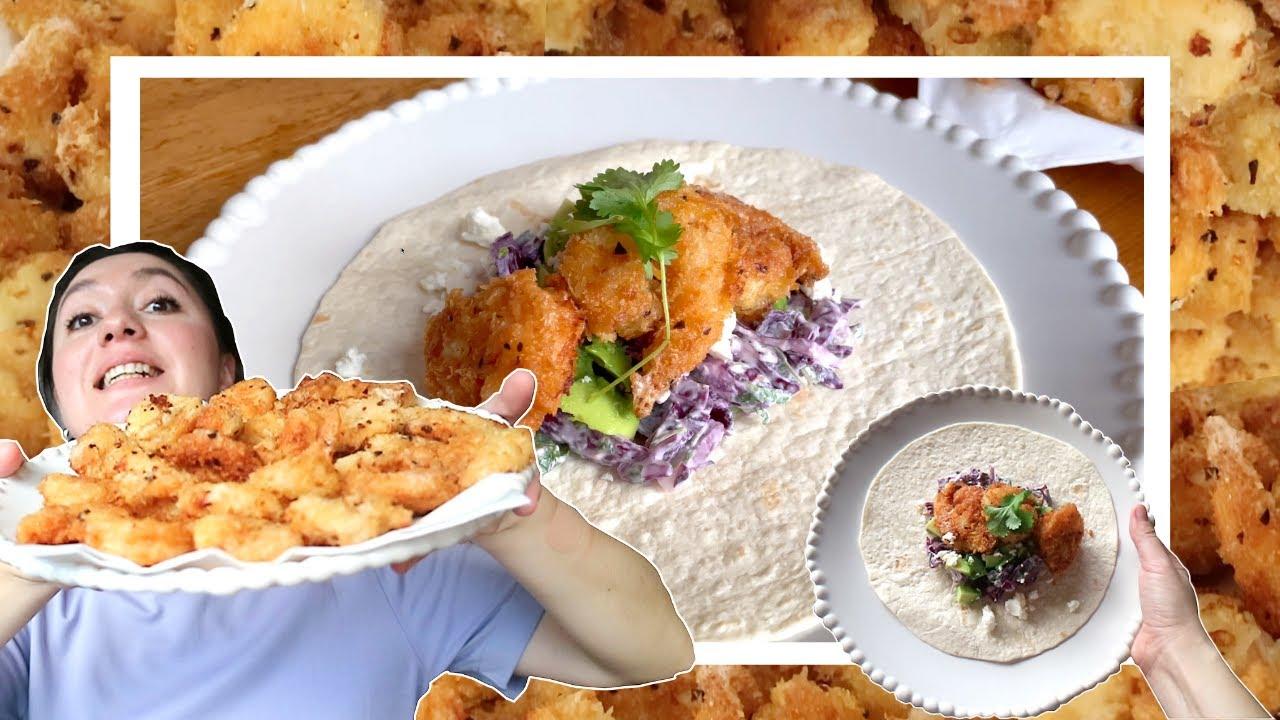 ტაკოს კრევეტებთან ტიშტიშშშ l Tacos with shrimps