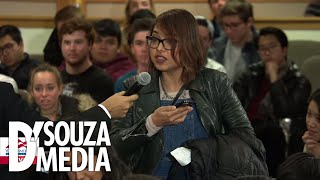 SHOCKING: Protestors try to battle D'Souza over Trump's wall, fail miserably
