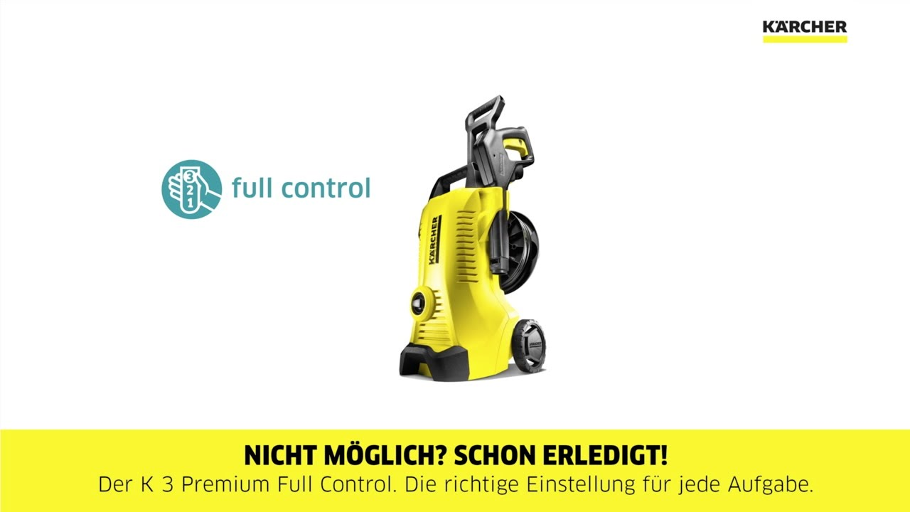 Karcher K7 Premium Full Control Home KÄrcher K 3 Full Control Product Video