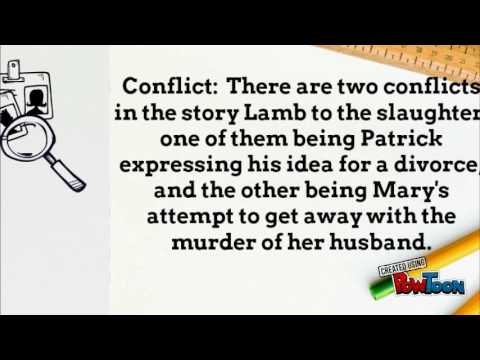 lamb to the slaughter summary Lamb to the slaughter roald dahl 1953 author biography plot summary characters themes style historical context critical overview criticism sources further .