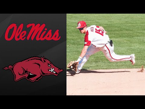 #12 Ole Miss vs #5 Arkansas Super Regional Game 3 | College Baseball Highlights