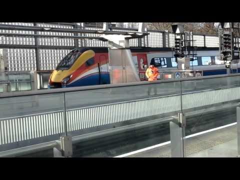 Trains at: St Pancras International, 16/01/16