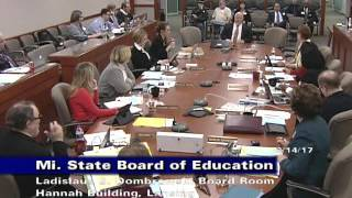 michigan-state-board-of-education-meeting-for-march-14-2017-afternoon-session