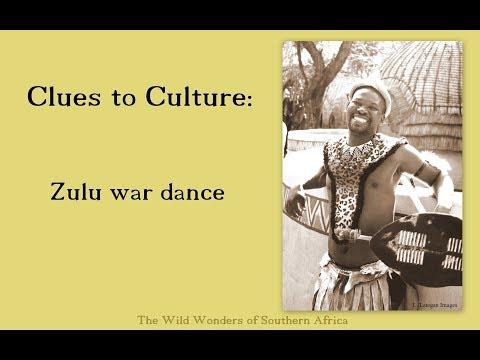 Clues to culture - Zulu war dance