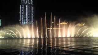 """Musical Fountain at """"THE DUBAI MALL"""" ...Dubai"""