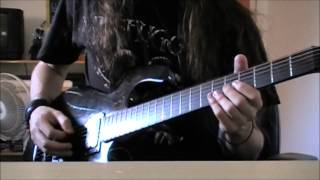 Six Feet Under - Feasting On The Blood Of The Insane (guitar cover)