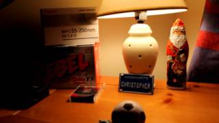 Canon EOS Rebel T3 (1100D) Video Focusing and Quality Test(Test of my new Canon EOS Rebel T3 (1100D) I am using a 18-55 mm kit lens with all automatic settings for shooting video. I am also manually focusing on every ..., 2011-12-26T05:32:29.000Z)