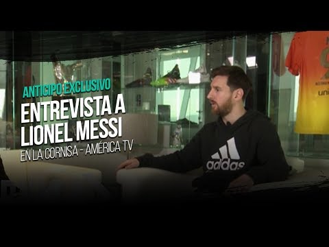 """Preview: exclusive interview with Messi on Argentine TV show, """"La Cornisa""""."""