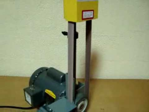 kalamazoo belt grinder. kalamazoo 1sm belt sander.wmv kalamazoo belt grinder