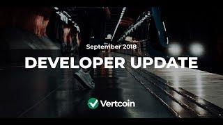 Vertcoin Talk: Episode 11 - September Development Update with James Lovejoy!
