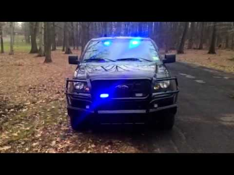 Ford F150 POV Emergency Lights Fire/EMS SECONDARY - YouTube