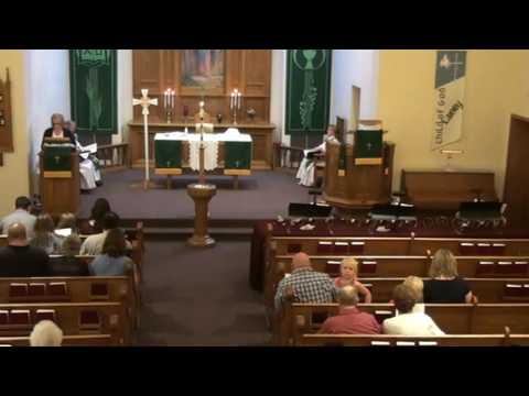 August 21, 2016 worship at Our Savior's, West Salem, Wisconsin