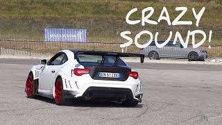 Toyota GT86 Varis Body Kit - Startup, Sound & Drift!