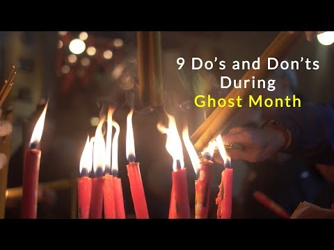 Ghost Month Do's and Don'ts