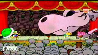 Paper Mario The Thousand Year Door - Bonetail with 5 HP